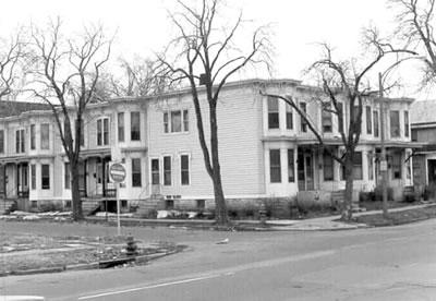 Michigan-Laurel Row Houses (LOST)