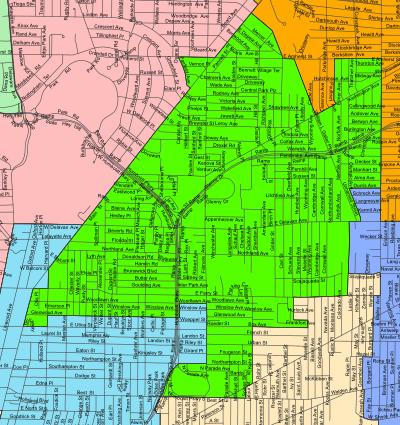 Masten District Map